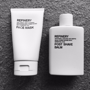 Aromatherapy Associates Skincare - Refinery Face Mask and Refinery Aftershave balm