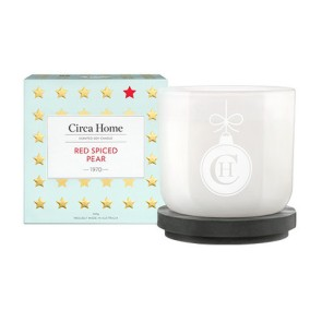 Christmas Gift Circa Home Red Spiced Pear Candle Mr Neo Luxe
