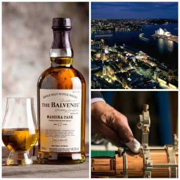 The Balvenie telescope at Blu Bar Shangdi-La Sydney Mr Neo Luxe