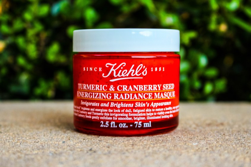 Mr Neo Luxe Review Kiehl's Turmeric & Cranberry Seed Energizing Radiance Masque