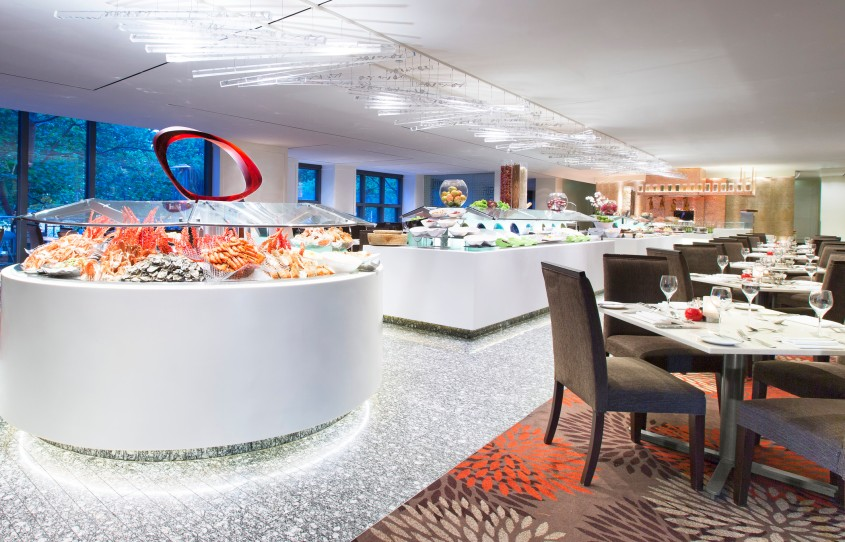 Mr Neo Luxe Review Feast Restaurant Sheraton on the Park Seafood buffet
