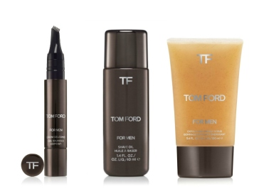 Tom Ford for Men Skincare and Grooming Shave Oil Exfoliator BrowGelCOmb