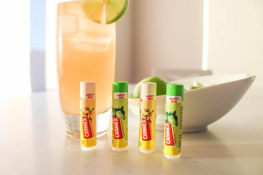 Mr Neo Luxe Carmex Lime Twist and Vanilla Click Sticks