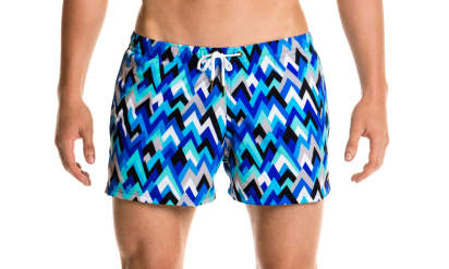 Mr Neo Luxe Funky Trunks Shorty Shorts peak performance
