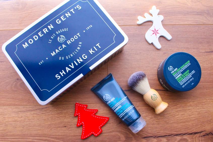 Mr Neo Luxe Christmas gift Guide 2016 The Body Shop Modern Gent's Shaving Kit