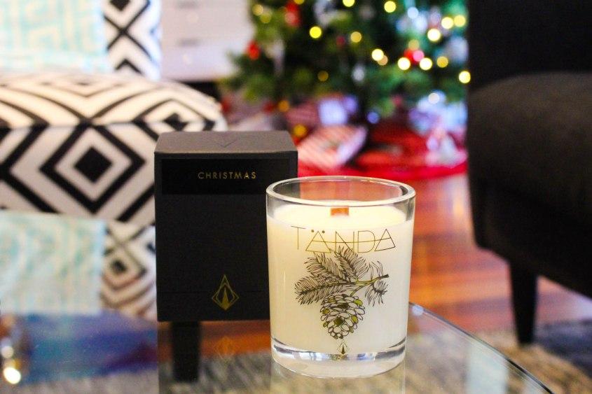Tanda Modern Christmas Eve Candle